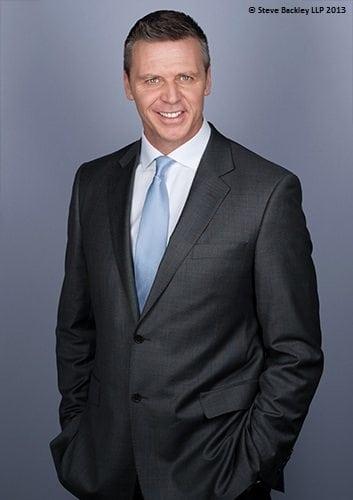 Steve Backley OBE