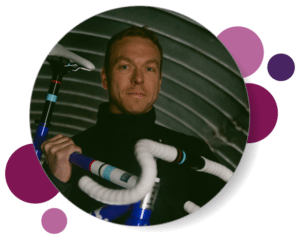 Bubble profile - Chris Hoy