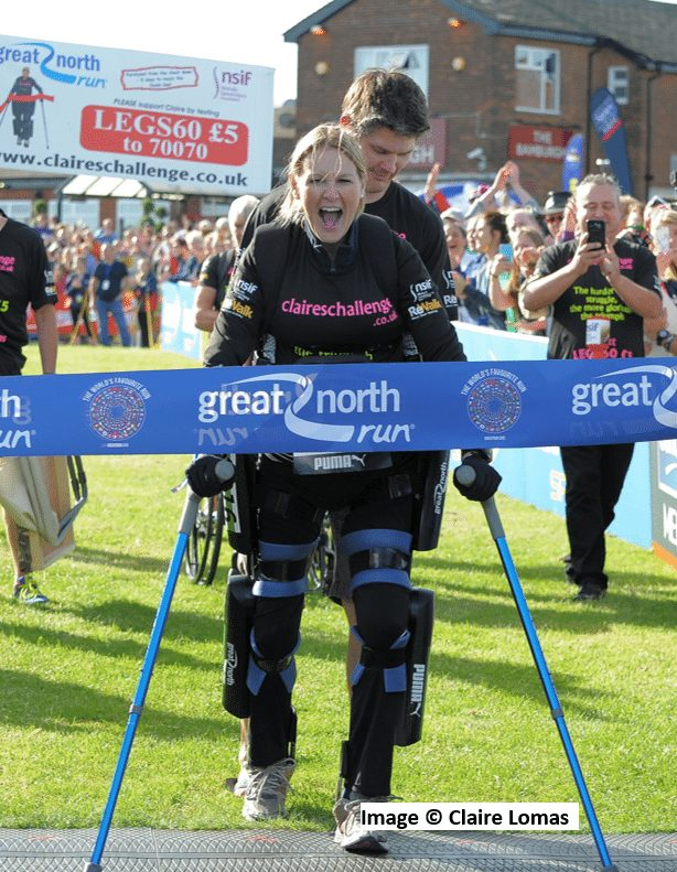 Claire Lomas MBE Thumbnail
