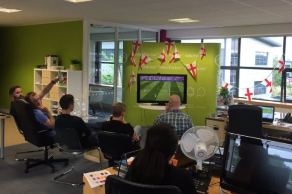 Euro 2016 at RTB HQ