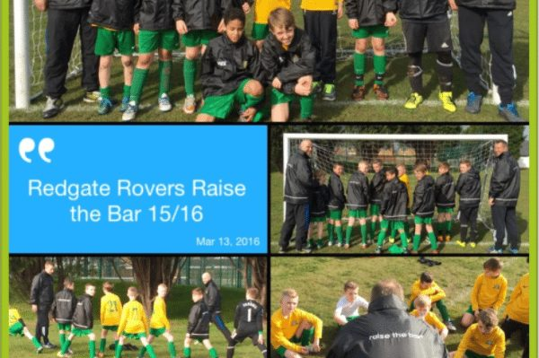 Redgate Rovers Raising the Bar!