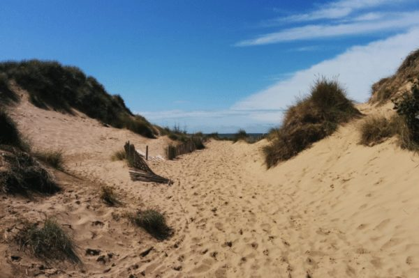 Formby Beach Walk and Game Shows
