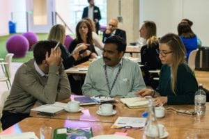 Valsraj and delegates Change Catalyst