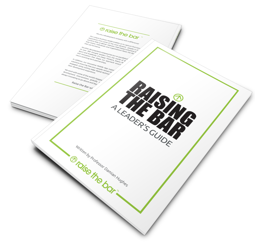 Raising the Bar – A Leaders Guide Book