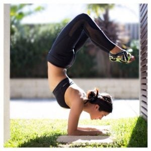 Yoga Pose Exercise Lady Woman