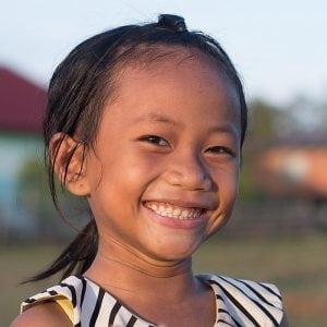 Smiling Happy Little Girl
