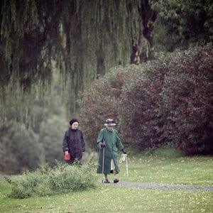 Walk Park Walking Women