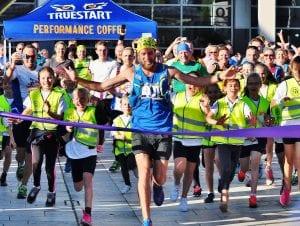 Ben Smith Marathon Runner Finish Line Winner Endurance Inspiring