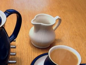 Tea Cup Milk Jug Brew Cuppa