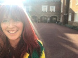 Kirsty Mac St James's Palace Princess Royal Training Award