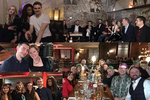 Raise the Bar's Christmas Night Out 2018